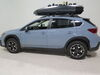 2020 subaru crosstrek roof box yakima aero bars elliptical factory round square medium profile on a vehicle