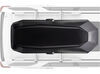 0  roof box yakima medium profile cbx rooftop cargo - 18 cubic ft black