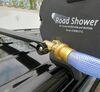 0  portable bathroom yakima showers aluminum on a vehicle