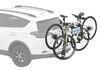 0  hitch bike racks yakima tilt-away rack 2 bikes on a vehicle