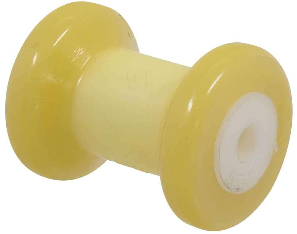 YR410Y-4 - Fits 1/2 Inch Shaft Yates Rubber Roller and Bunk Parts